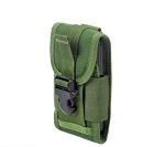 CORDURA FABRIC Phone Pouch Holder Green