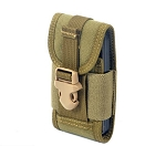 CORDURA FABRIC Phone Pouch Holder Khaki