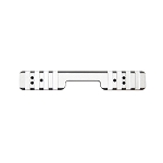 CZ455 11mm Dovetail Standard Aluminium Picatinny Rail - Silver - Also Cogswell & Harrison Certus