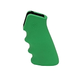 Hogue AR-15/M-16 Rubber Grip with Finger Grooves Zombie Green
