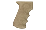 Hogue AK-47/AK-74 Rubber Grip with Finger Grooves - Flat Dark Earth