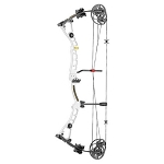 EK Archery Axis 60 lbs Compound Bow - White