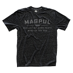 Magpul Megablend Go Bang T-Shirt Charcoal Heather - Medium