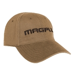 Magpul Core Cover Wordmark Low Crown Stretch Fit Khaki Cap S/M