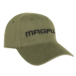 Magpul Core Cover Wordmark Low Crown Stretch Fit Olive Cap S/M
