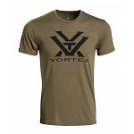 Vortex Olive Green T-Shirt - Large