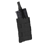 Single Speed Load Rifle Magazine Pouch - Black