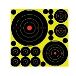 BIRCHWOOD CASEY Shoot N C® Self-Adhesive Targets – Variety Pack - 50