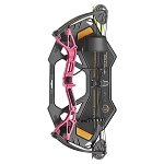 EK Archery Buster Junior Compound Bow - 15-29lbs - Pink