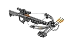 EK Archery Torpedo Carbon Compound Crossbow w/ Illuminated Scope - 185lbs