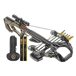 EK Archery Guillotine X Compound Crossbow Full Kit - Black
