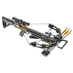 EK Archery Accelerator 390+ Compound Crossbow - 185lbs - Black