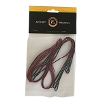 EK Archery Rex Spare Split String - Black / Red