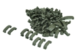 Airsoft Hand Guard Index Clips FG Green