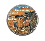 Gamekeeper Rat Dispatcher Pellets - 0.22\x250