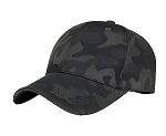 Dark Green Camouflaged Pattern Baseball Cap