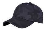 Dark Blue Camouflaged Pattern Baseball Cap