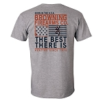 Browning Men's Best There Is Short-Sleeve Tee Shirt - Medium