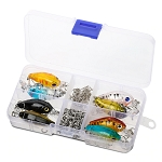 8 x Crank-bait Fishing Lures with Box