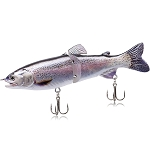 18cm Rainbow Trout Jointed Lure