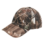 Autumn Brown Camouflaged Baseball Cap