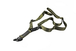 Airsoft Multi Mission Single and Two Point Sling - Olive Drab