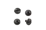 Hogue Beretta Grip Screws (4) Slotted - Black
