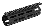 UTG PRO AR15 Super Slim M-LOK Drop-in Car Length Rail Black