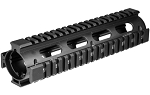 UTG PRO AR308 2-PC Drop-in Mid Length Quad Rail for S&W MP10