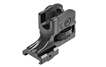 UTG AR15 Super Slim Fixed Rear Sight, Picatinny, Black