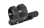 UTG Keymod Offset Flashlight Ring Mount, Matte Black