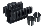 UTG Tri-rail Mount for Front Sight Attachment-3 Barrel Sizes