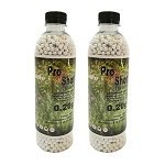 ProShot Airsoft BBs Biodegradable 0.20g - 3000bb Bottle x 2