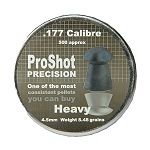 ProShot Precision Heavy Pellets - 0.177 x 500