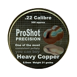 ProShot Precision Heavy Copper .22 Pellets