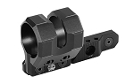 UTG M-LOK Offset Flashlight Ring Mount, Matte Black