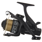 EX40 4BB Twin Handle Carp Runner Reel With 8lb Line + Spare Spool