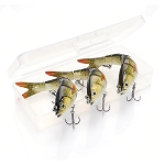 3 Piece Set 14 cm Sinking Wobble Fishing Lures RW42