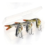 3 Piece Set 14 cm Sinking Wobble Fishing Lures RW43