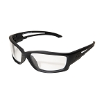 Edge Tactical Blade Runner XL – Soft-Touch Matte Black Frame / Clear Vapor Shield Lenses