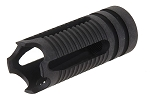 Airsoft A.P.S. Phantom Muzzle Flash Hider 14mm CCW