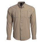 Vortex Optics Men's Fossil Bottom Bouncer Long Sleeve Shirt - XL