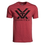 Vortex Optics Red Heather Logo T-Shirt - Small