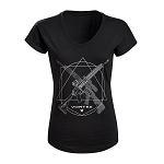 Vortex Optics Ladies Black Rifle T-Shirt - Medium
