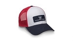 Vortex Red White and Blue Hat