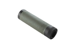 Hogue AR-15/M-16 (Carbine) Free Float Forend with OverMolded Gripping area - OD Green