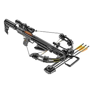 EK Archery Accelerator 370+ Compound Crossbow - 185lbs - Black