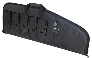 "UTG 34"" DC Deluxe Tactical Gun Case, Black"