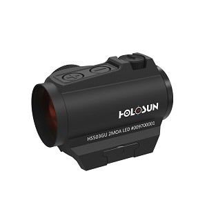 Holosun Red Dot Sight HS503G-U-BLACK 2 MOA Dot, 65 MOA Circle