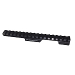 CZ455 11mm Dovetail 0 MOA Rear Extended Aluminium Picatinny Rail - Also Cogswell & Harrison Certus